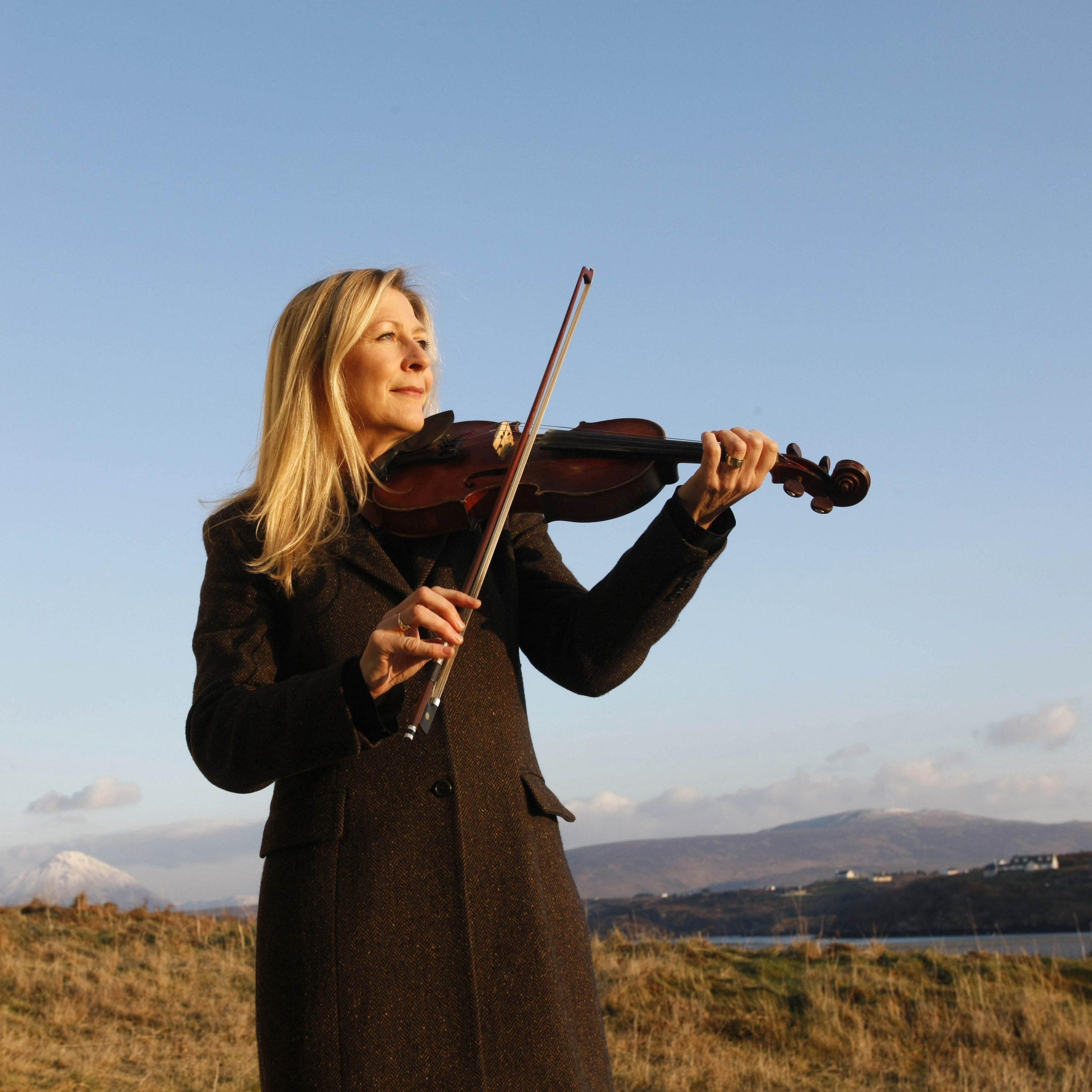 Donegal fiddler Mairéad Ní Mhaonaigh