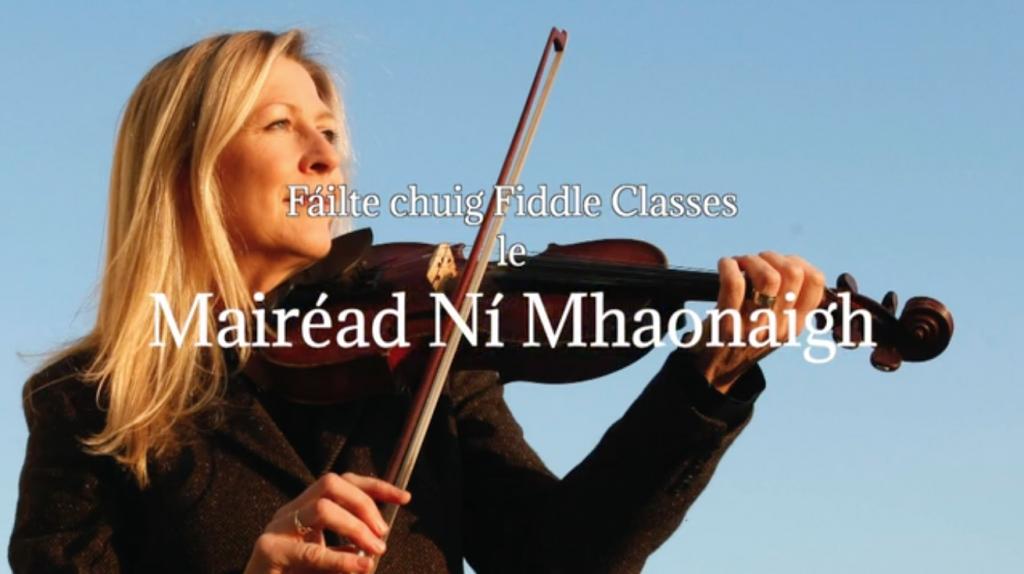 Fiddle classes with Mairéad Ní Mhaonaigh