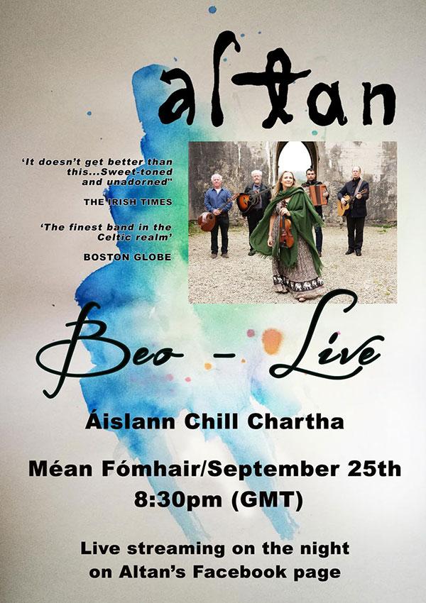 Altan Live - Áislann Chill Chartha