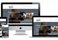 Fiddle Lessons website with Mairéad Ní Mhaonaigh